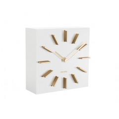 Dizajnové stolové a nástenné hodiny 5781WH Karlsson 15cm
