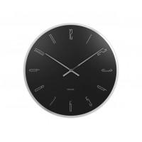 Nástenné hodiny 5800BK Karlsson 40cm
