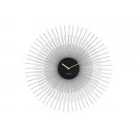 Nástenné hodiny ka5818bk Karlsson Peony 60cm