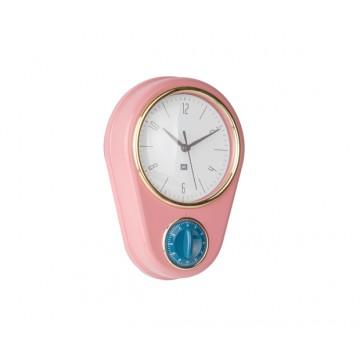 Hodiny s minútkou Present Time PT3264PI, 23cm