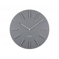 Nástenné hodiny KA5783GY Karlsson 40cm