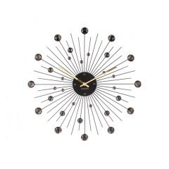 Dizajnové nástenné hodiny 4859bk Karlsson 50cm