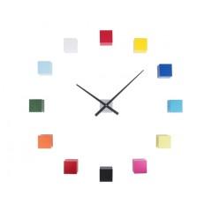 Nástenné hodiny Karlsson KA5698MC Diy Cubic Multicolor