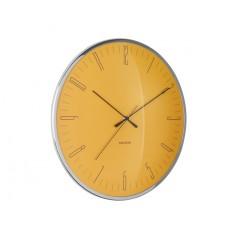 Nástenné hodiny Karlsson Dragonfly Dome glass KA5754YE, 40cm
