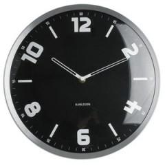 Karlsson hodiny KA5259BK Studio 30cm