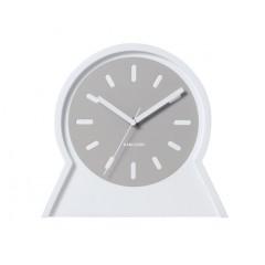 Nástenné aj stolové obojstranné hodiny 5453WH Karlsson 23cm