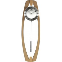 Kyvadlové hodiny MPM 3188.53 svetlé drevo, 58cm