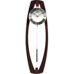 Kyvadlové hodiny MPM 3188.54 tmavé drevo, 58cm