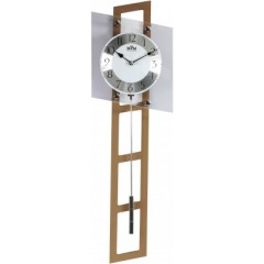 Kyvadlové hodiny MPM 3187.53 svetlé drevo, 70cm