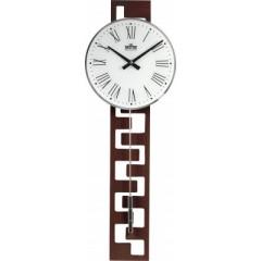 Kyvadlové hodiny MPM 3186.54 tmavé drevo, 71cm