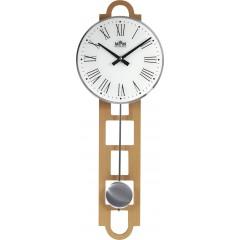 Kyvadlové hodiny MPM 3185.53 svetlé drevo, 68cm