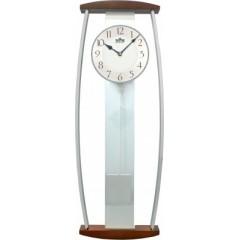 Kyvadlové hodiny MPM 3052.54 tmavé drevo, 64cm