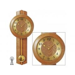 Kyvadlové hodiny 5165/4 AMS riadené rádiových signálom 62cm