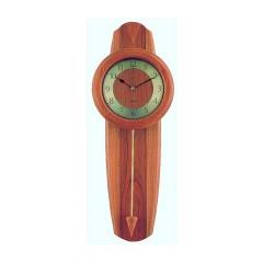 Kyvadlové hodiny ZEIT.punkt 17/339/2-762, rádiom riadený čas, 68