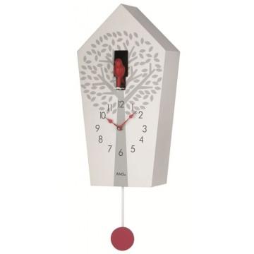Kyvadlové kukučkové hodiny 7286 AMS 39cm
