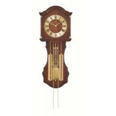 Kyvadlové mechanické nástenné hodiny 211/1 AMS 66cm