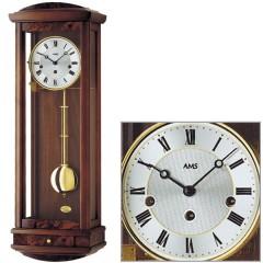 Kyvadlové mechanické nástenné hodiny 2607/1 AMS 65cm