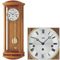 Kyvadlové mechanické nástenné hodiny 2607/9 AMS 65cm