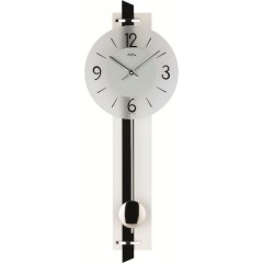 Kyvadlové nástenné hodiny 7318 AMS 66cm