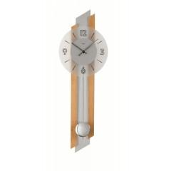 Kyvadlové nástenné hodiny 7207/18 AMS 62cm