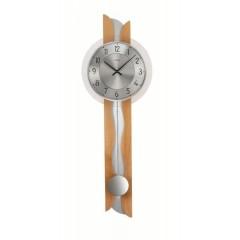 Kyvadlové nástenné hodiny 7216/18 AMS 69cm
