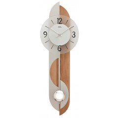 Kyvadlové nástenné hodiny 7295 AMS 69cm