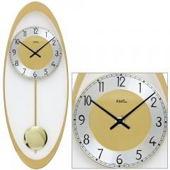 Kyvadlové nástenné hodiny 7417 AMS 50cm