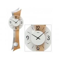 Kyvadlové nástenné hodiny 7425 AMS 70cm