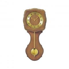 Kyvadlové nástenné hodiny 5162/4 wm, AMS DCF,  58cm