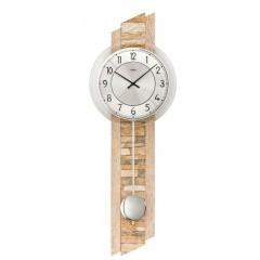 Kyvadlové nástenné hodiny 7423 AMS 67cm
