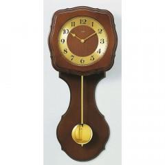 Kyvadlové nástenné hodiny 5162/1, AMS DCF,  58cm