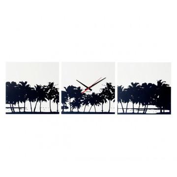 Nástěnné hodiny 5484 Karlsson Pláž 3 x35cm