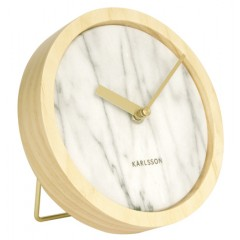 Nástenné / stolné hodiny KA5583WH Karlsson 17cm