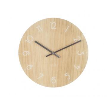Nástenné/ stolné hodiny 5617wd, Karlsson Wood small light, 17cm