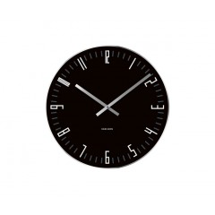 Nástenné/ stolné hodiny KA5615BK, Karlsson Slim Index small