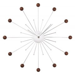 Nástenné dizajnové hodiny JVD HT 49 54cm