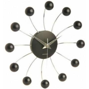 Designové nástenné hodiny 5204BK Karlsson 50cm