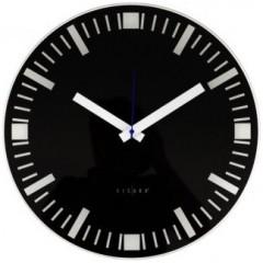 Nástenné hodiny Basilea čierne