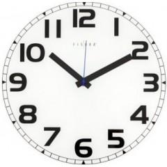 Nástenné hodiny Fisura Ginebra White 40cm