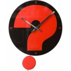 Nástenné hodiny Fisura Red question