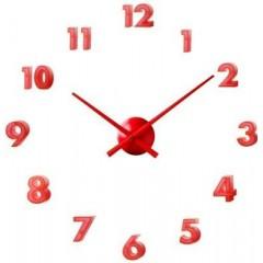 Nástenné hodiny 24524 Balvi red 40cm