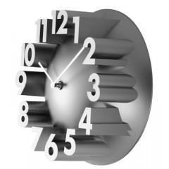 Nástenné hodiny 24289 Balvi silver 22cm