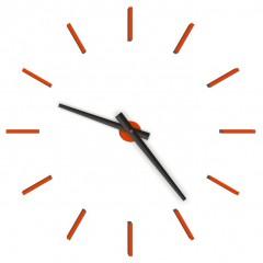 Nástenné hodiny 1480M Calleadesign orange