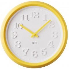Nástenné hodiny žlté JVD TIME H101.2 31cm