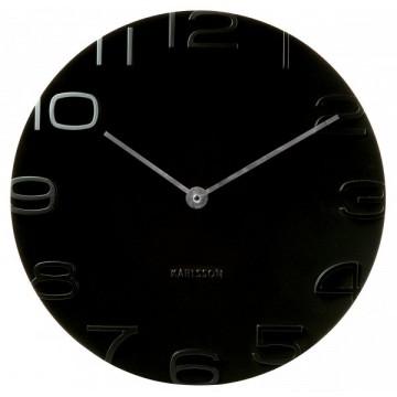 Nástenné hodiny 5311BK Karlsson 42cm