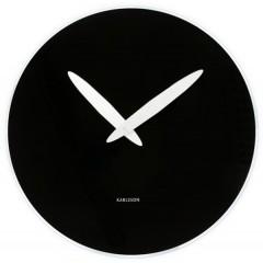 Nástenné hodiny 5378BK Karlsson 40cm