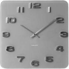 Nástenné hodiny Karlsson KA5488GY Vintage grey 35cm