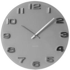 Nástenné hodiny Karlsson KA5489GY Vintage grey 35cm