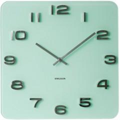 Nástenné hodiny Karlsson KA5488PG Vintage pastel green 35cm