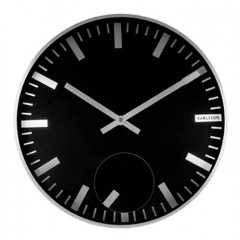 Nástenné hodiny 5254BK Karlsson 30cm